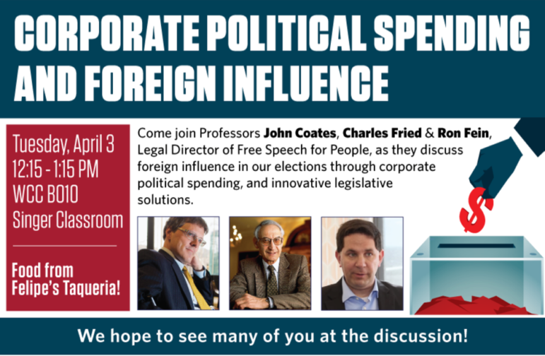 Join us at Harvard Law School for the lunchtime forum \'Corporate ...