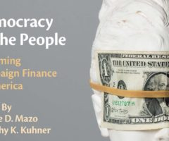 Democracy by the People: Reforming Campaign Finance in America